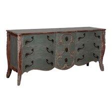 Brandt 9 Drawer Double Dresser by One Allium Way