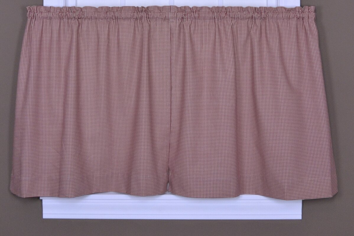Red gingham curtains - Red Gingham Curtains 25