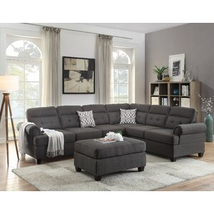 Bobkona Oliver Sectional by Poundex