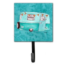 Welcome To The Trailer Leash Holder and Wall Hook by Caroline's Treasures