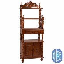 Windsor 63 Accent Shelves Bookcase by International Caravan