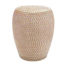 Decorative Apple Ceramic Stool by Woodland Imports