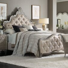 Sanctuary King Upholstered Panel Bed by Hooker Furniture