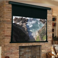 Premier White Electric Projection Screen Quiet Motor by Draper