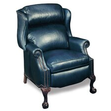 Presidential Wing Leather Recliner by Bradington-Young