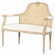 Marquis Settee Upholstered Bench by Furniture Classics LTD