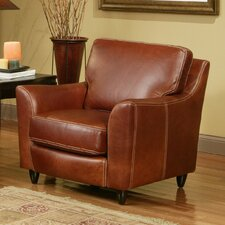 Great Texas Leather Armchair by Omnia Leather