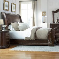 Hepburn Sleigh Bed by Astoria Grand