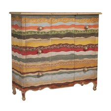 Brooklands 3 Drawer Accent Chest by World Menagerie