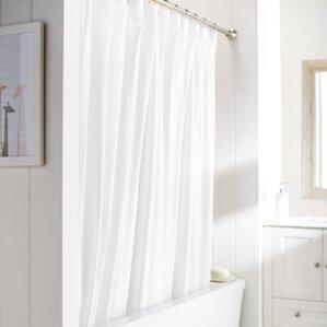 Wayfair Basics Vinyl Shower Curtain Liner