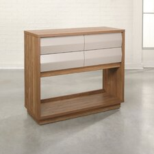 Soft Modern Console Table by Sauder