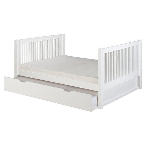 viv rae isabelle full platform bed with trundle reviews wayfair - Full Platform Bed Frame
