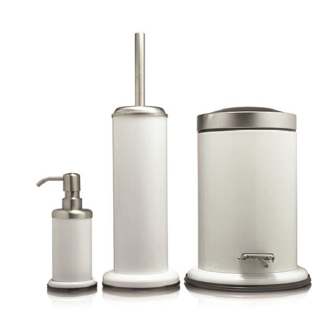 Sealskin acero 4 piece bathroom accessory set reviews for Bathroom 4 piece set