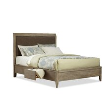Trawalla Wooden Upholstered Platform Bed by Union Rustic