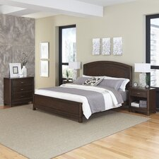 Crescent Hill Panel 4 Piece Bedroom Set by Home Styles