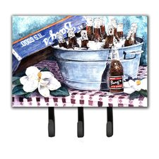 Barq's and Old Washtub Leash Holder and Key Hook by Caroline's Treasures