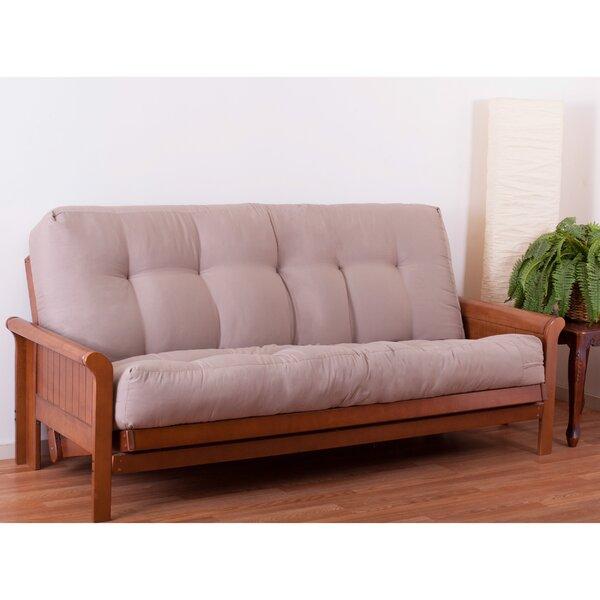 blazing needles innerspring full size futon mattress u0026 reviews   wayfair futon mattress full   furniture shop  rh   ekonomikmobilyacarsisi