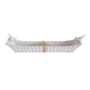 Birdie Ceramic Cracker Platter