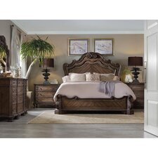 Rhapsody Panel Bed by Hooker Furniture