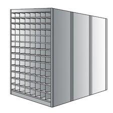 87 H 13 Shelf Shelving Unit Starter by Hallowell