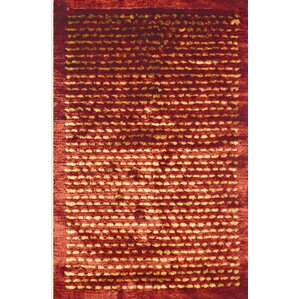 Royal Shag Rust/Gold Rug