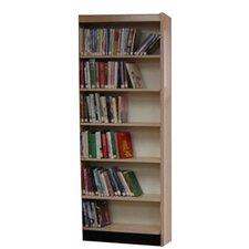 Open Back Single Face Shelf Adder 82 Standard Bookcase by W.C. Heller