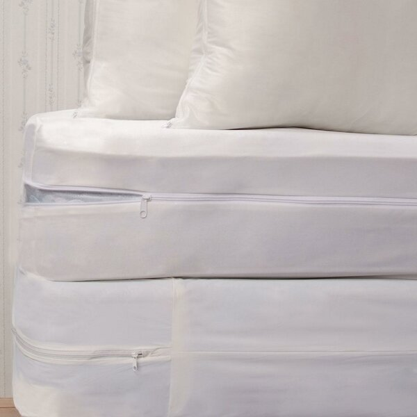 royal heritage home bed bug waterproof mattress protector set u0026 reviews wayfair - Bed Bug Mattress Covers