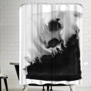 Charlotte Winter Bang Shower Curtain East Urban Home