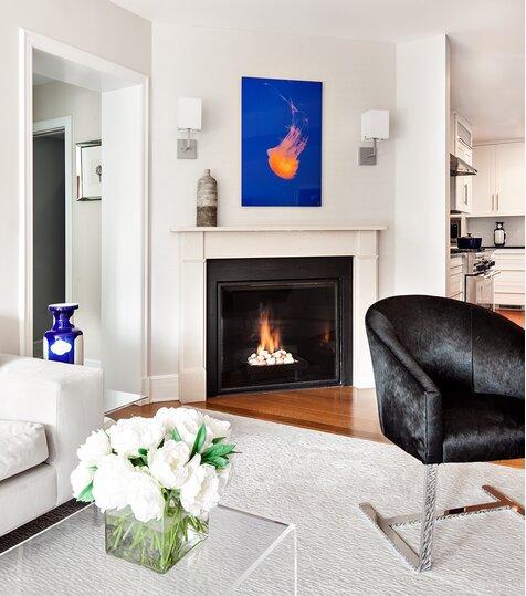 Living Spaces Modern Living Room Design