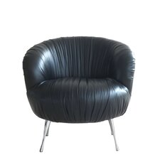 Verona Barrel Chair by Lazzaro Leather