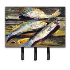 Fish on The Dock Key Holder by Caroline's Treasures