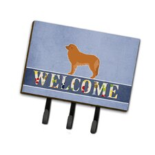 Leonberger Welcome Leash or Key Holder by Caroline's Treasures