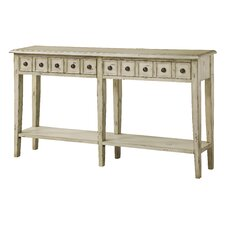 Paniagua 2 Drawer Antique Console Table by One Allium Way