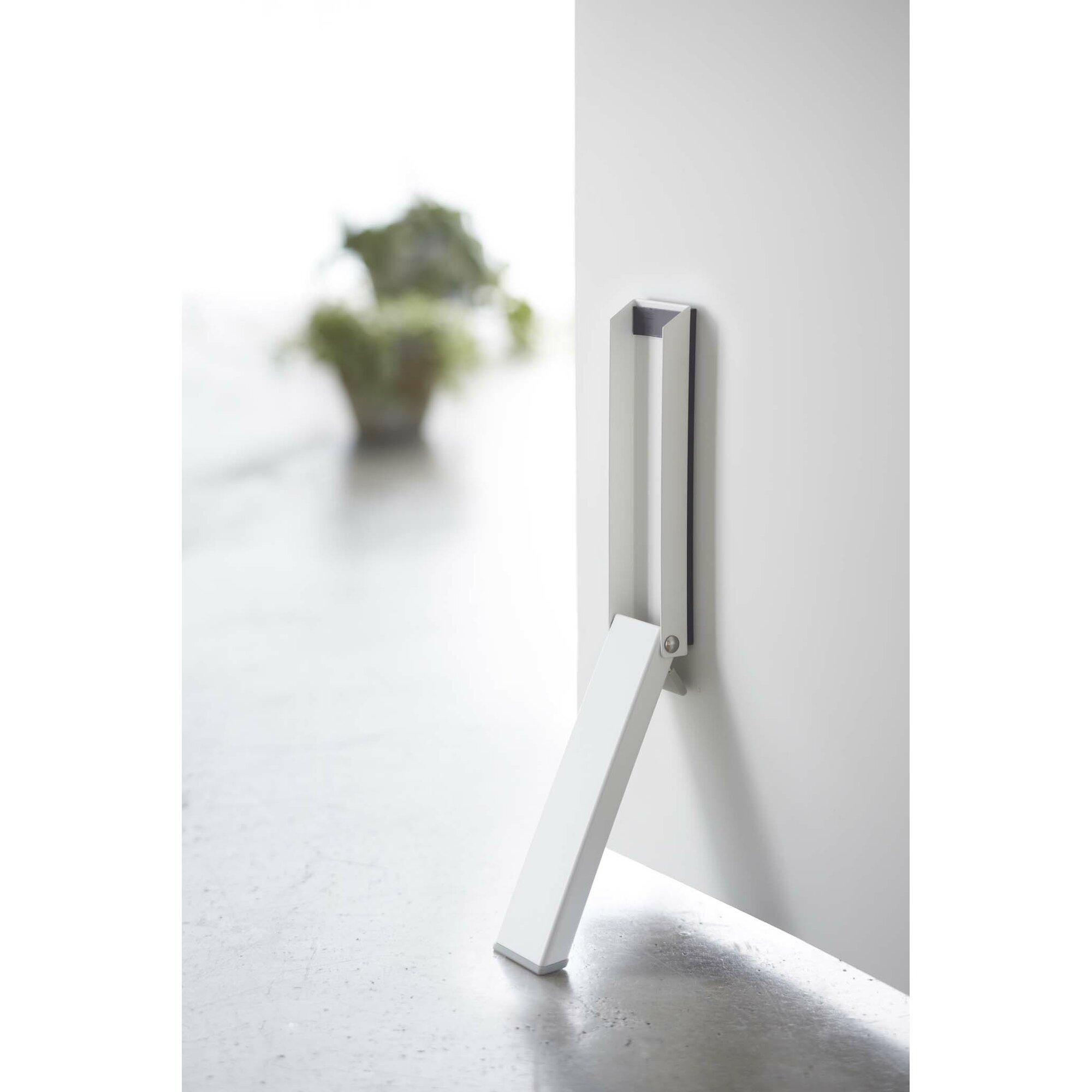 Yamazaki USA Smart Magnetic Folding Door Steel Kick Stop