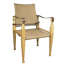 Canvas Campaign Armchair by Authentic Models