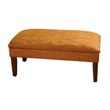 Upholstered Storage Bedroom Bench by HomePop