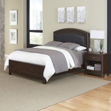 Crescent Hill Panel 2 Piece Bedroom Set by Home Styles