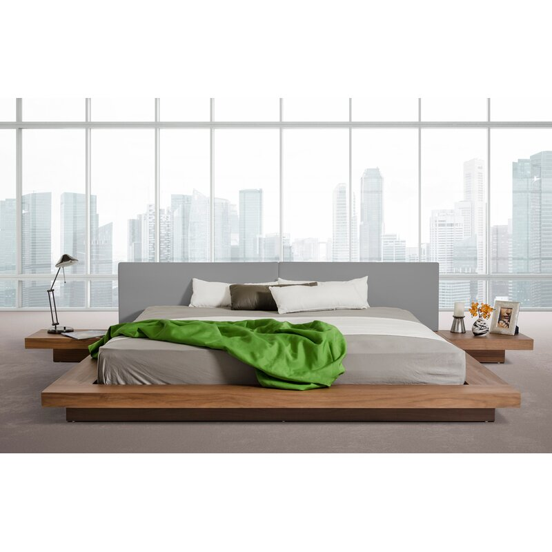 Modern Platform Beds, Contemporary Bed Frames, Prades Upholstered Platform Bed