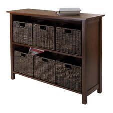 Granville 2 Section Storage Shelf by Luxury Home