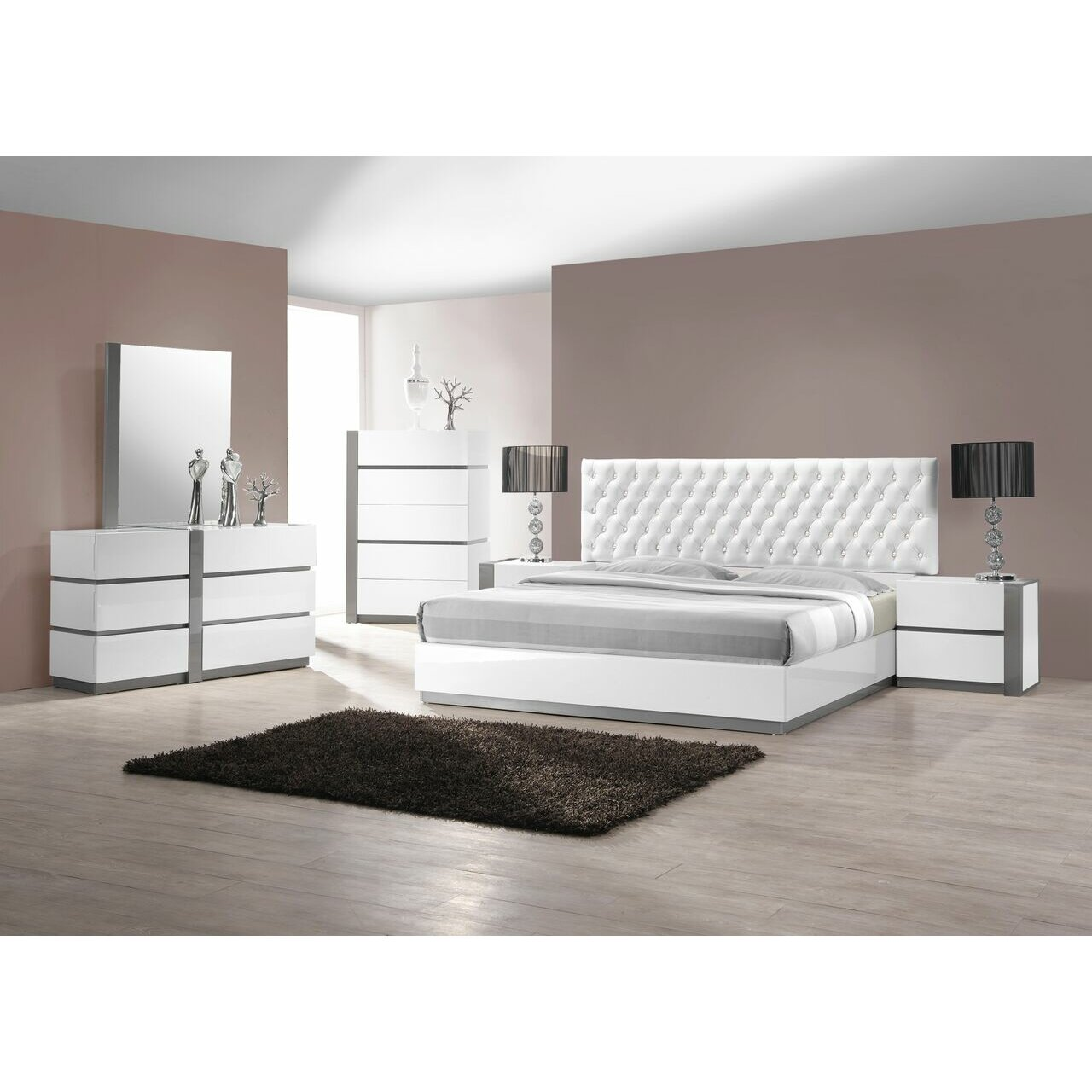Quick View Orrstown Platform 5 Piece Bedroom Set