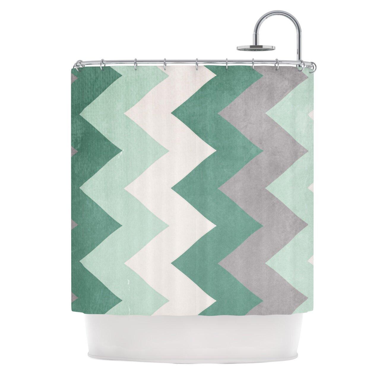Winter shower curtain - Winter Shower Curtain