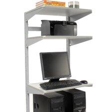 24 Shelf for Sever Station Unit (Set of 2) by Nexel