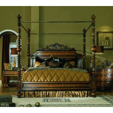 Lisbon King Canopy Customizable Bedroom Set by Eastern Legends