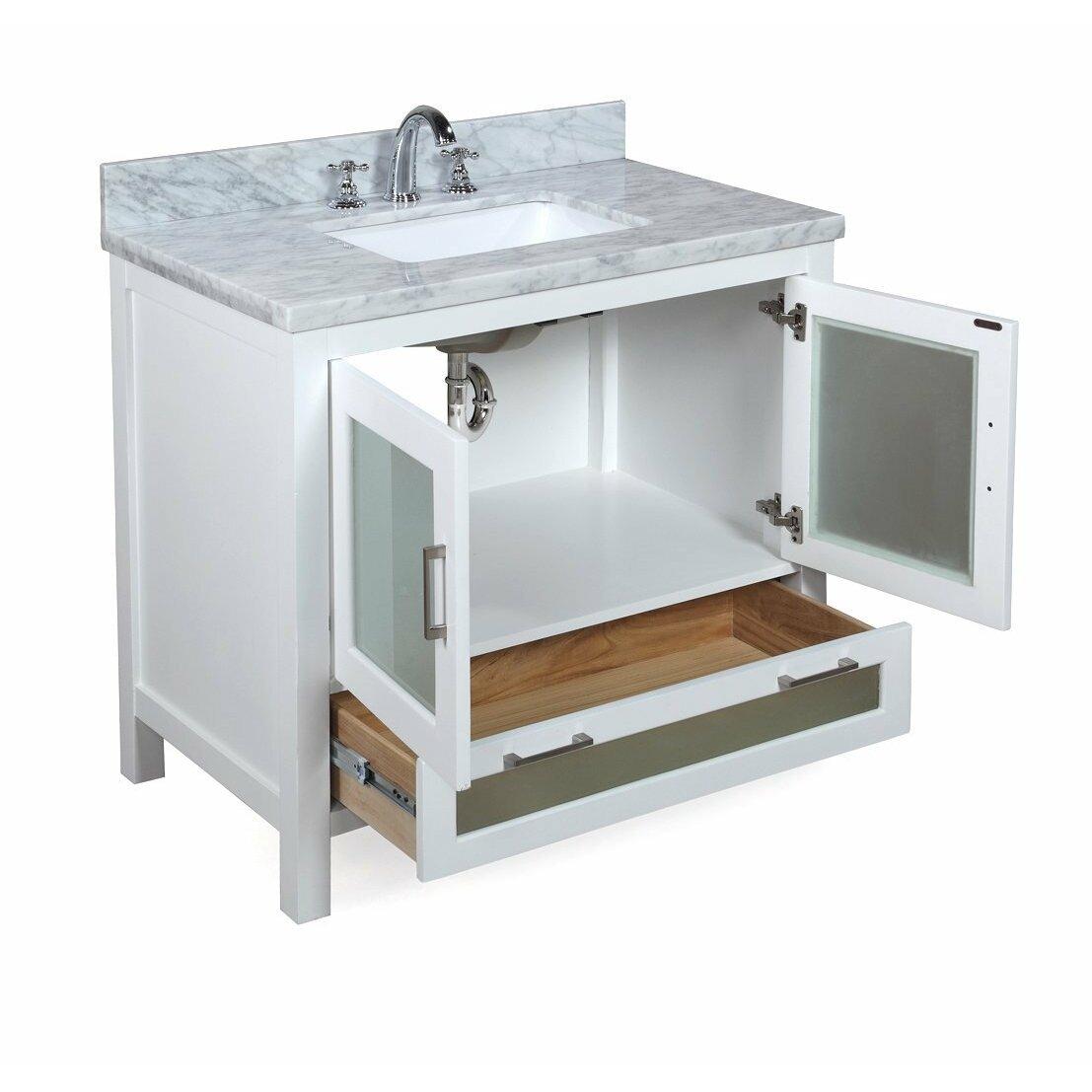 kbc manhattan 36 single bathroom vanity set reviews