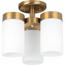 Elevate 3-Light Semi Flush Mount