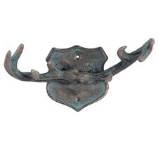 Copper Antlers Wall Hook by Foreside Home & Garden