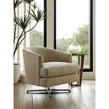 Zavala Graves Geometric Swivel Barrel Chair by Lexington