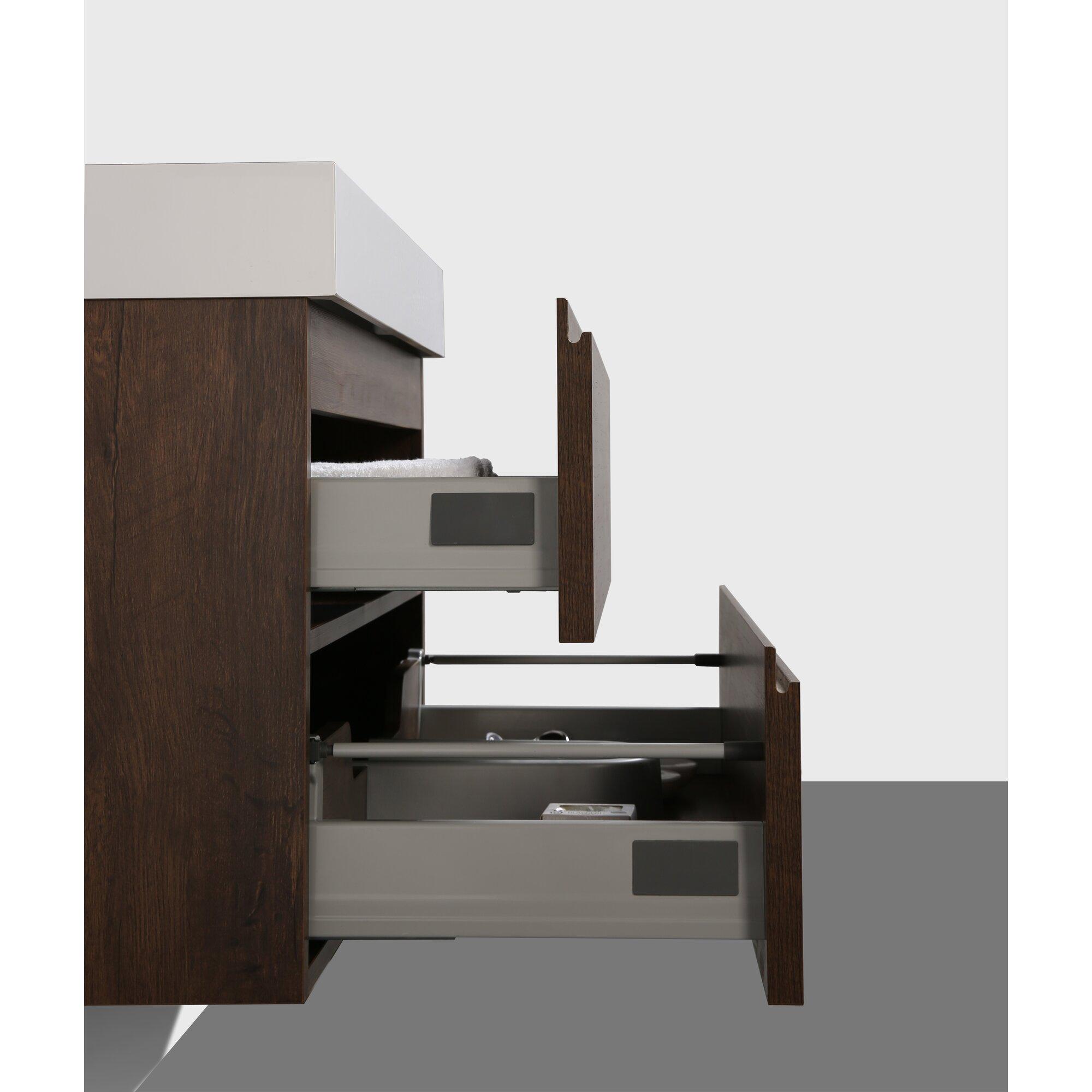 Orren ellis sinope 29 5 single bathroom vanity set for Levi 29 5 single modern bathroom vanity set