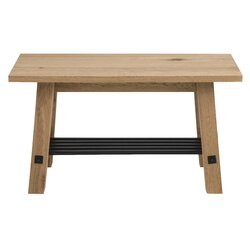 blain wood storage entryway bench