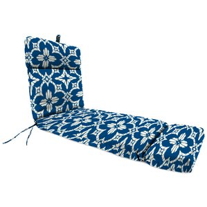 Spun Polyester Outdoor Chaise Lounge Cushion